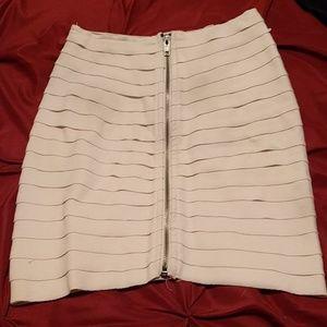 White Bandage Mini Skirt